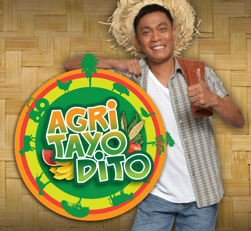 Ruben Gonzaga, Pinoy Big Brother first male grand winner. Now host of Agri Tayo Dito every Sunday.