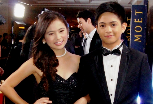 Ella Cruz and Paul Salas