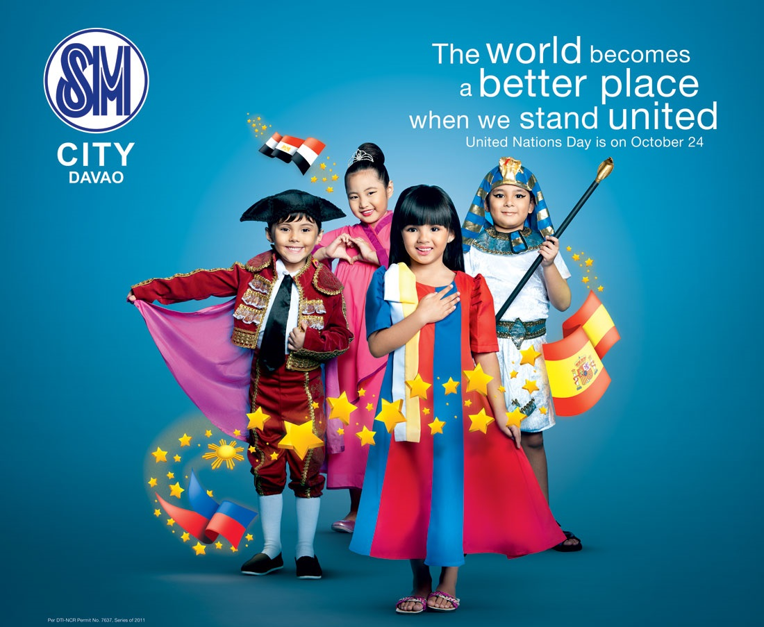 Celebrate United Nations' Day with SM City Davao