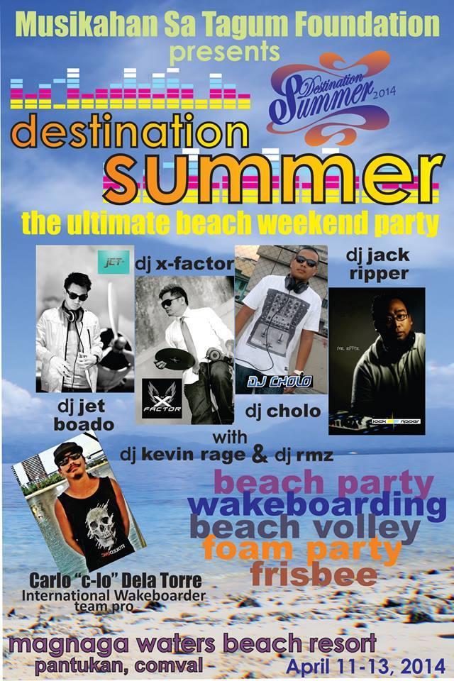destination summer tagum
