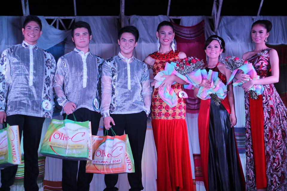 mr and ms olivec 2014 davao winners