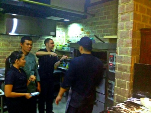 Pizzeria Michelangelo's Kitchen