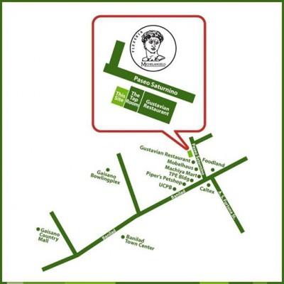 Pizzeria Michelangelo Banilad Branch Map