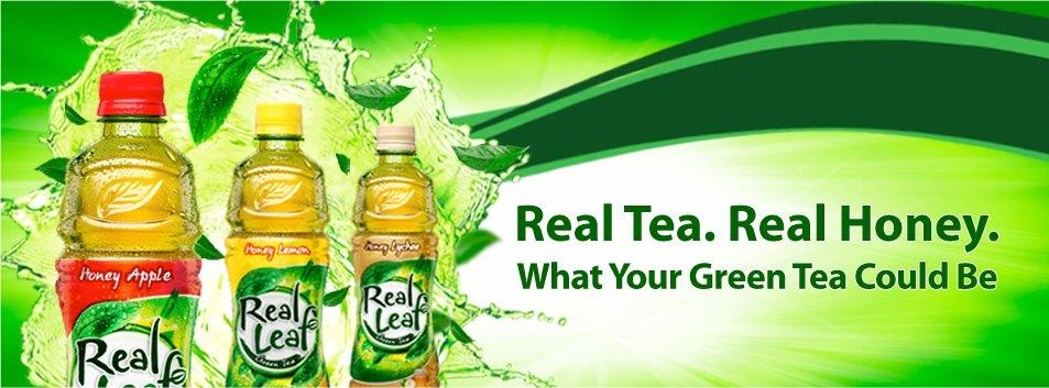 real leaf tea