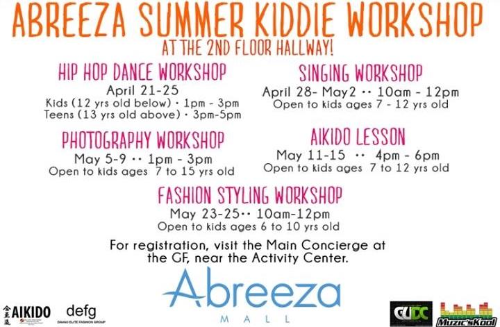 Abreeza Summer Kiddie Workshop 2