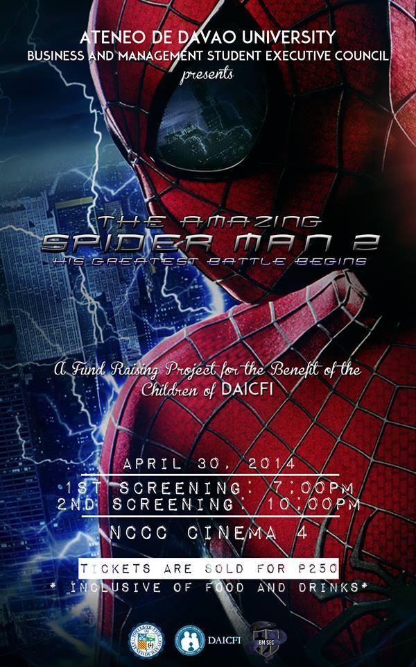 Block Screening of The Amazing Spiderman 2