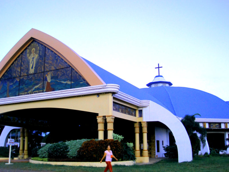 Churches in Davao for Visita Iglesia Our Lady of Lourdes Parish