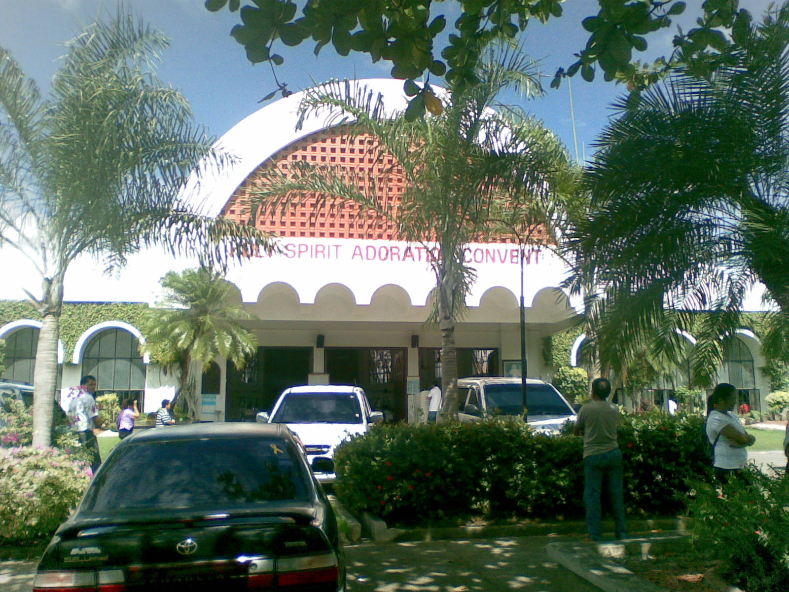 Churches in Davao for Visita Iglesia Pink Sisters Church