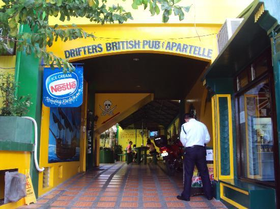 Drifters Apartel and British Bar davao