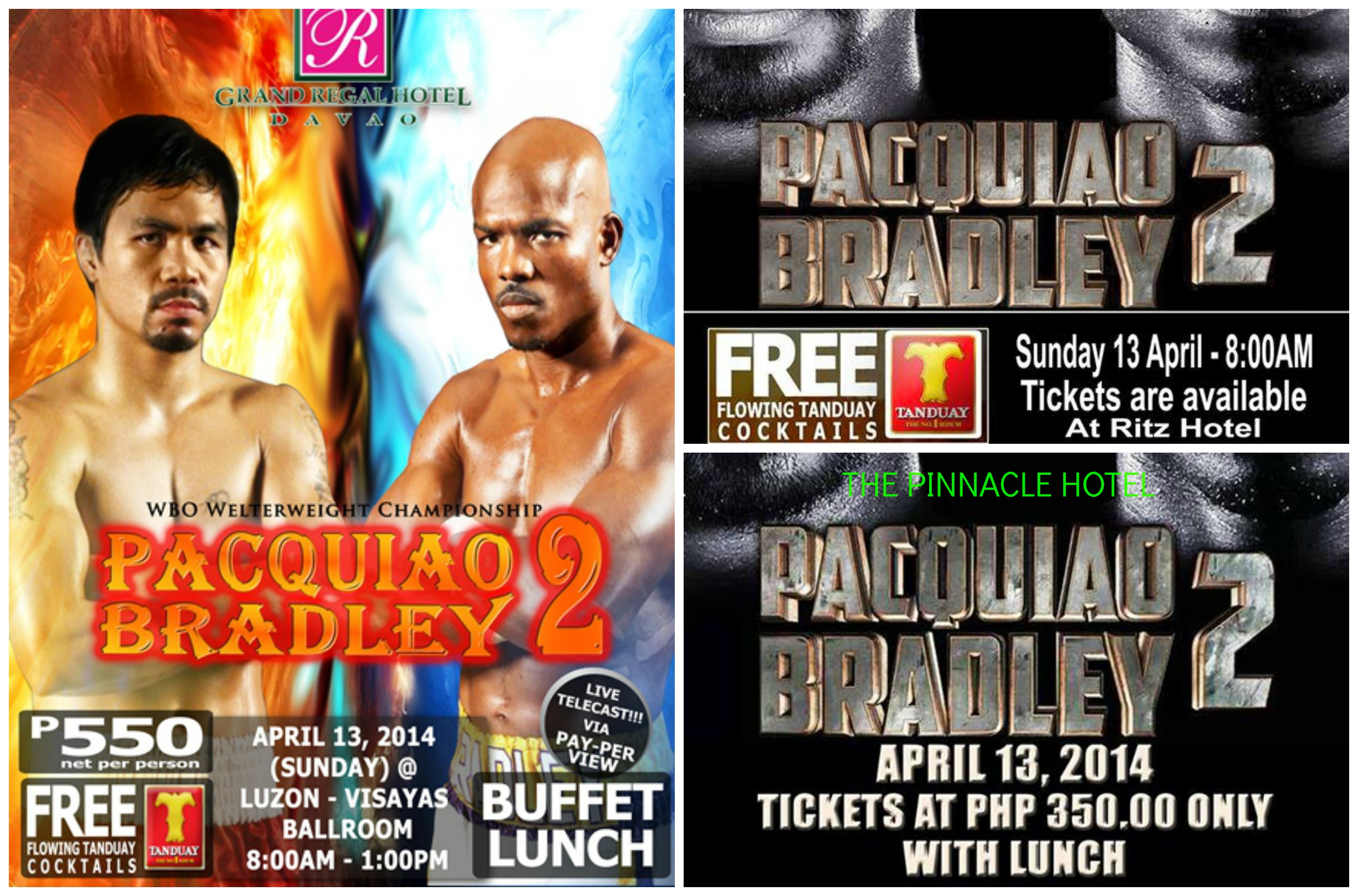 Pacquiao-Bradley Fight Davao