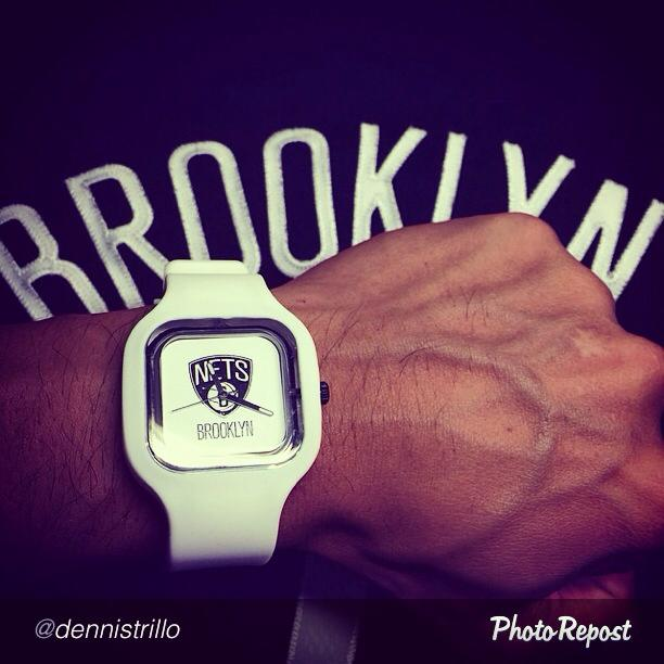 Are you an NBA fan? Then the @swapwatch NBA fits just right for you! Check out actor @dennistrillo's #SWAPNBA Brooklyn Nets combo! Now available in Tomato Time Davao