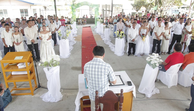 mass wedding davao