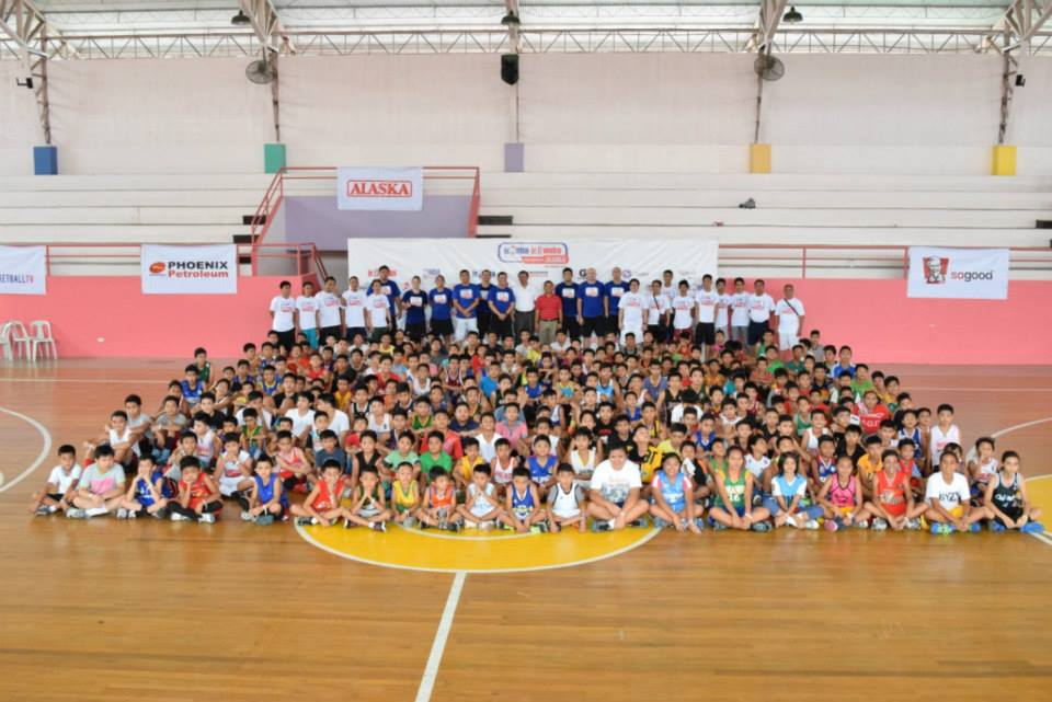 250 boys and 9 girls flocked to University of the Immaculate Conception, Bajada Campus for the Jr. NBA/ Jr. WNBA Regional Selection Camp in Davao.