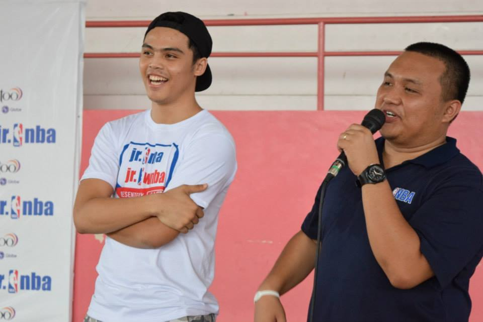 2011 Jr. NBA All-Star Alumni and Davao City local Miguel Competente encouraged the 2015 RSC participants to dream and do their best.