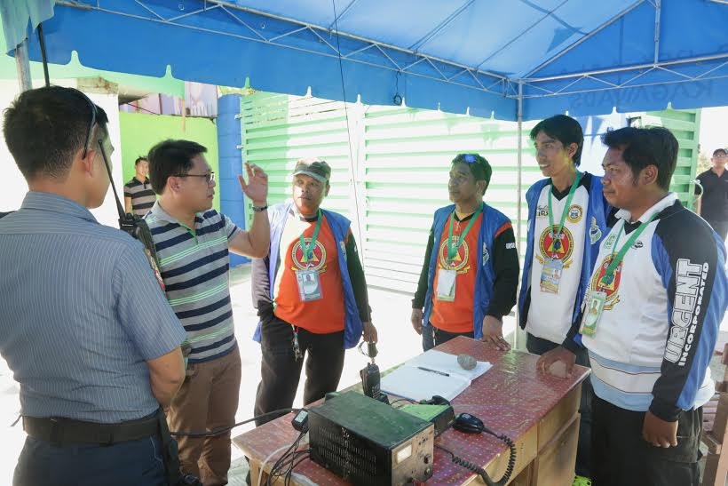 Tagum City Mayor Allan L. Rellon conducts security and safety inspection to all billeting schools of Tagum for the 2015 Palarong Pambansa in the city. Tagum City is home to eighteen (18) billeting schools and twelve (12) playing venues. The Palarong Pambansa 2015 is slated on May 3-9, 2015 hosted by the Province of Davao del Norte with Tagum City as one of the cooperating Local Government Units. Leo Timogan/CIO Tagum