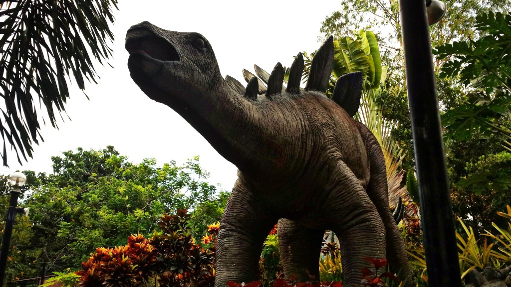 The dino at the Dino Park