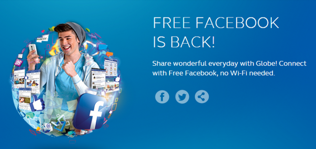 free facebook from globe 2