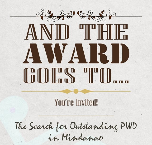 search for the Outstanding Person With Disability (PWD) in Mindanao