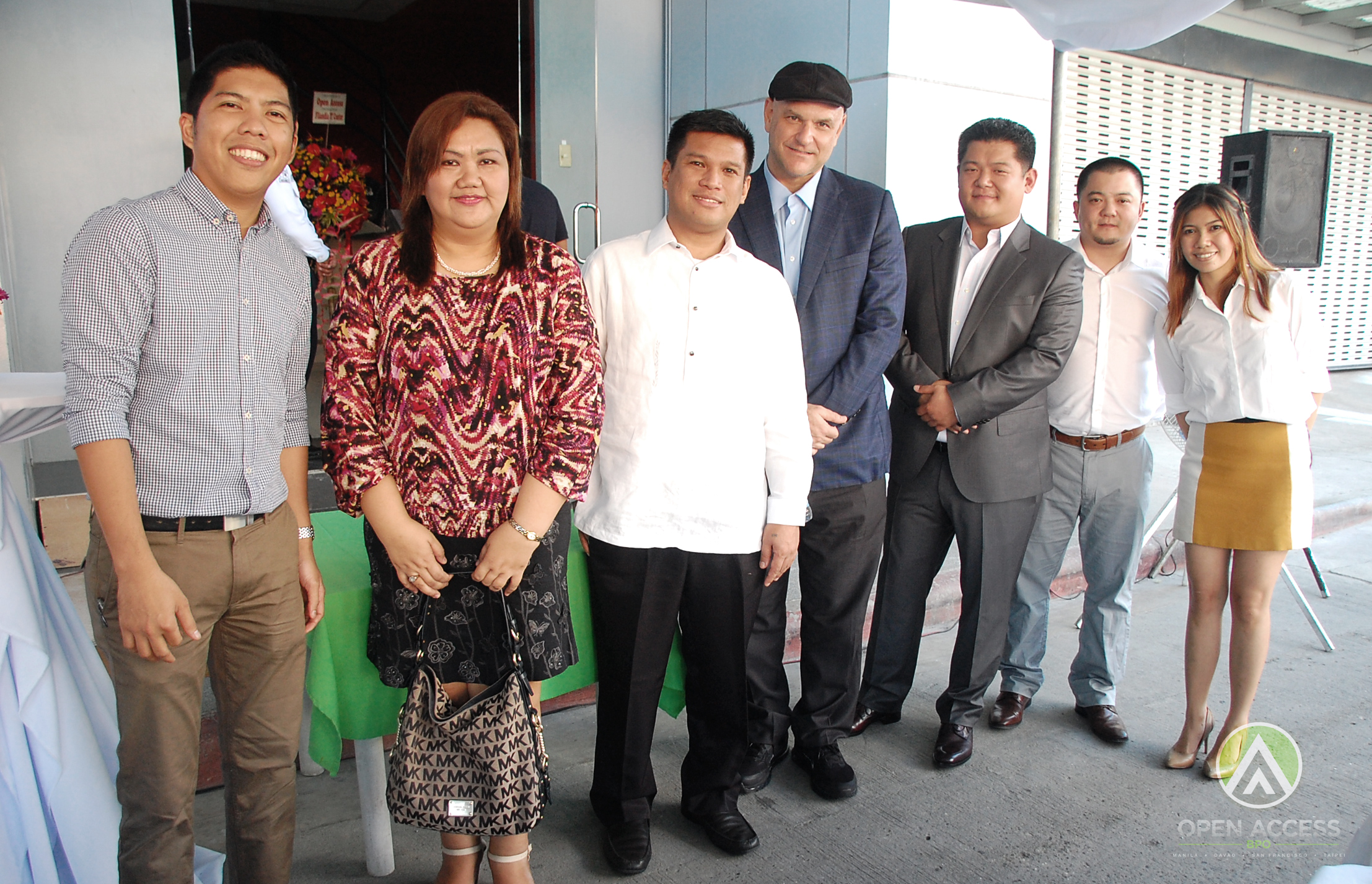 Open Access BPO Davao Ribbon Cutting Photo Op_01