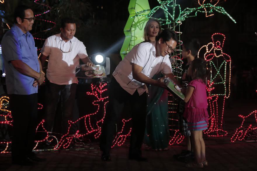 Tagum's Giant Holiday Tree