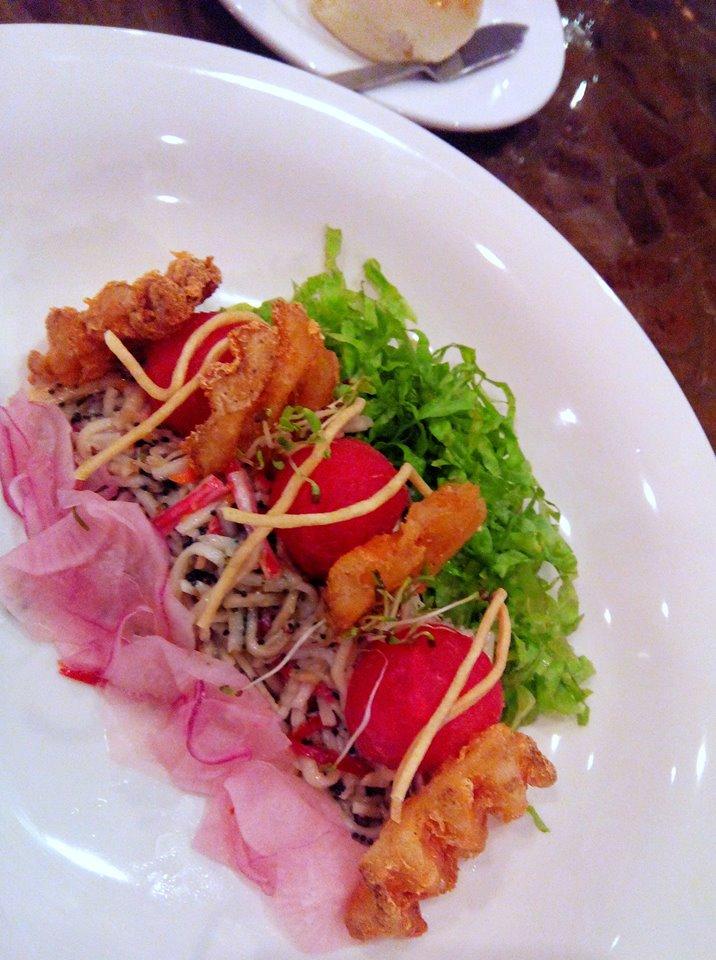 Hot Crab Salad