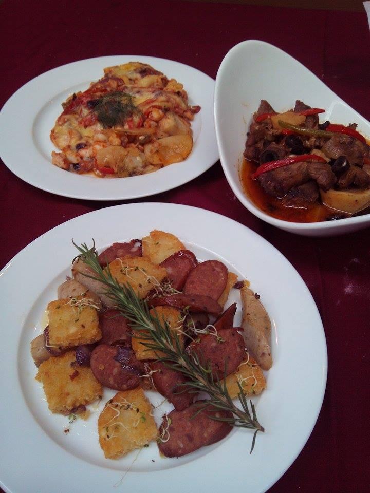 Chef Sandy Daza'sfood creations