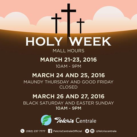 Holy Week 2016 Felcris Centrale