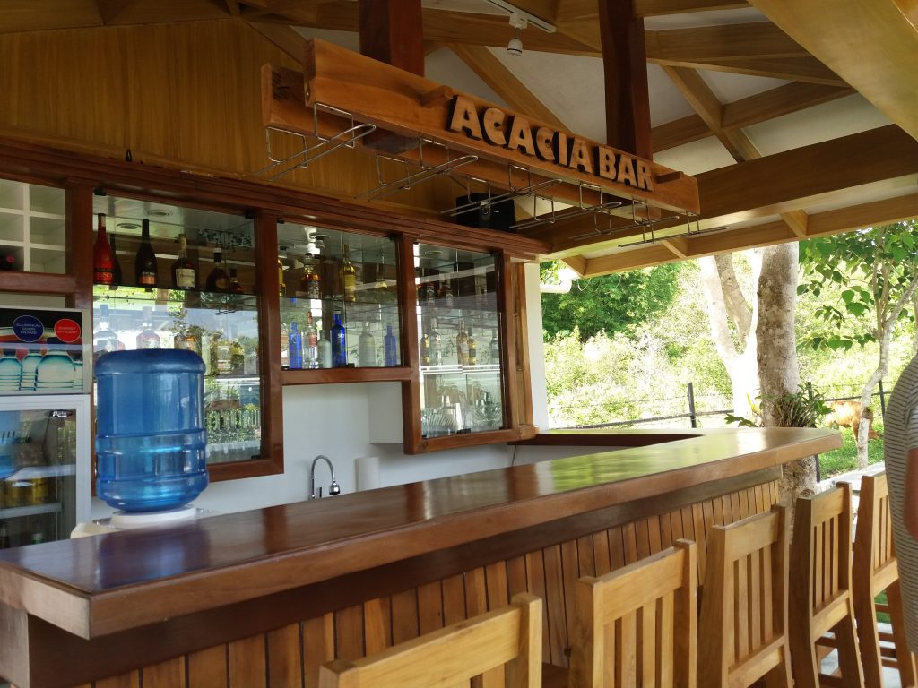 The bar. This is where you can also sing your hearts out using their high-quality karaoke system.