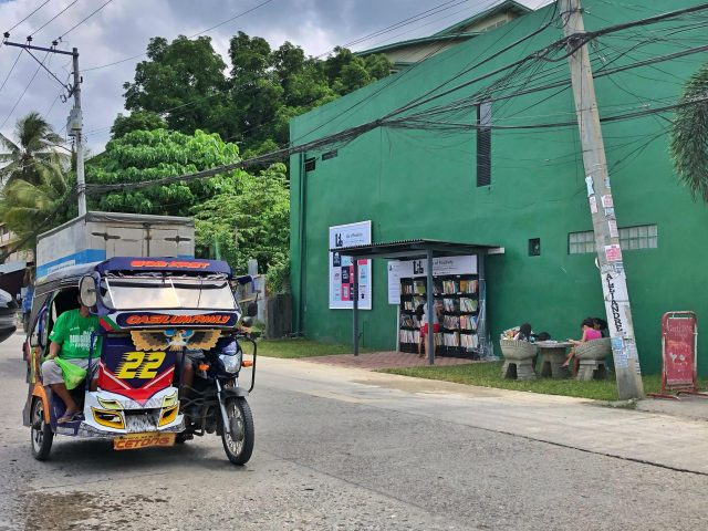 street library in Davao City