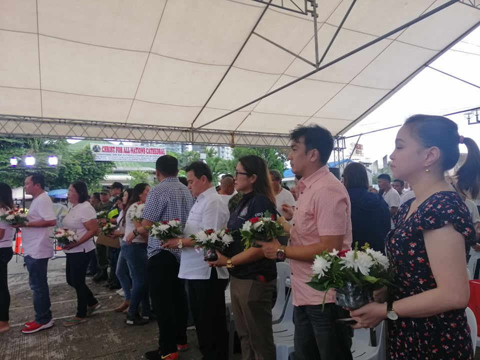 davao city commemorates third year of roxas night market bombing