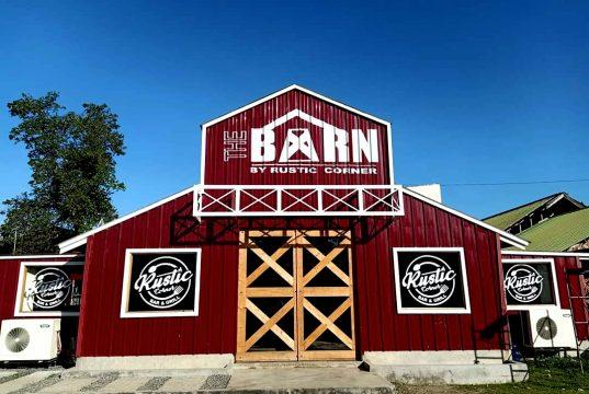 The Barn by Rustic Corner